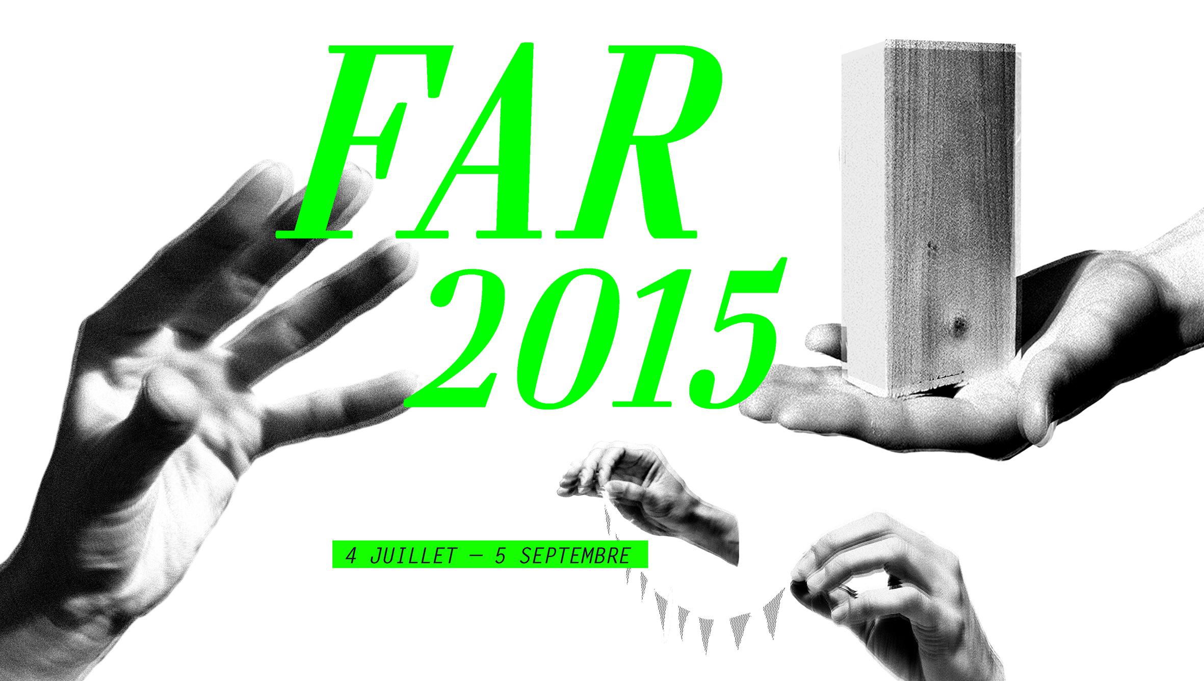 FAR 2015 - Ouverture samedi 4 juillet